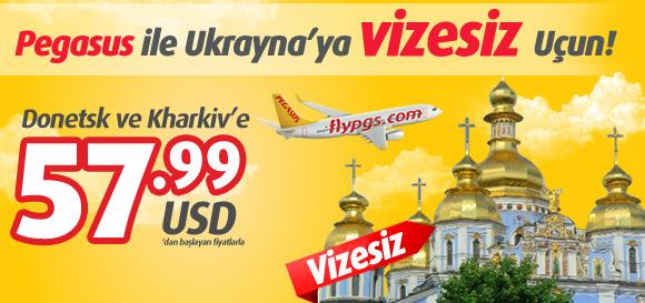 Pegasus Ukrayna Uçak Bileti